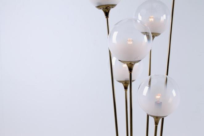 stilnovo-brass-copper-italy-glass-floor-light-6-bulbs-fifties-vintage-lighting-stems-floral-3
