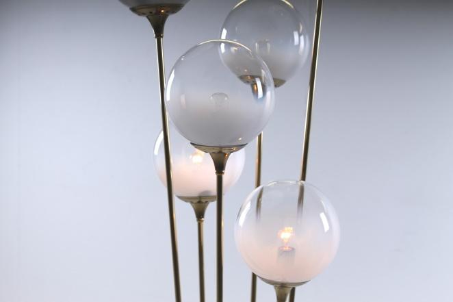 stilnovo-brass-copper-italy-glass-floor-light-6-bulbs-fifties-vintage-lighting-stems-floral-7