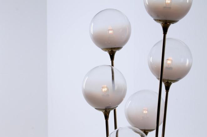 stilnovo-brass-copper-italy-glass-floor-light-6-bulbs-fifties-vintage-lighting-stems-floral-8
