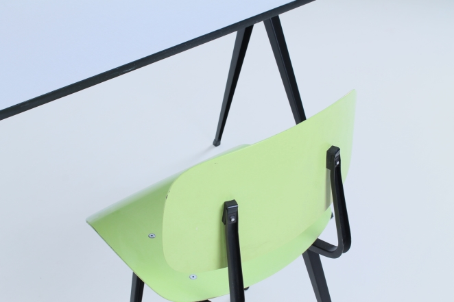 table-white-galvanitas-pyramid-compas-prouve-style-rietveld-ahrend-fifties-design-dutch-compass-industrial-3