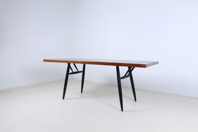 tapiovaara-pirkka-pirka-dining-wood-table-pine-birch-wood-laukaan-cencity-puu-finland-wood-vintage-fifties-1