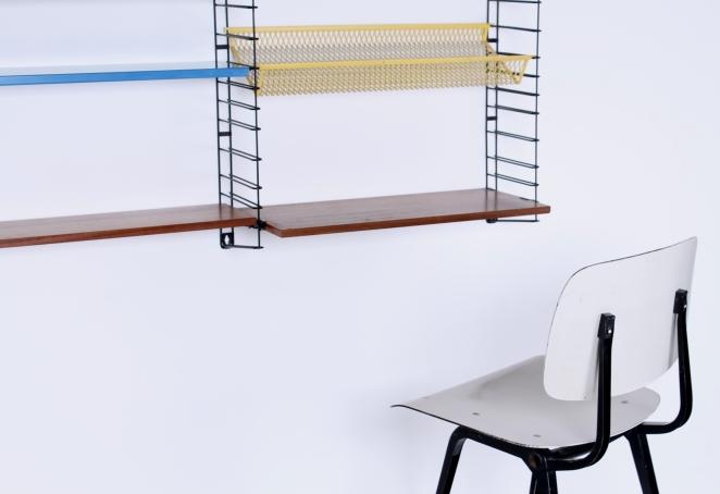 tomado-afro-teak-metal-colors-special-parts-desk-shelves-complete-mixed-unit-dekker-genuin-vintage-dutch-design-bookshelves-shelving-4