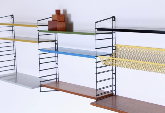 tomado-afro-teak-metal-colors-special-parts-desk-shelves-complete-mixed-unit-dekker-genuin-vintage-dutch-design-bookshelves-shelving-6