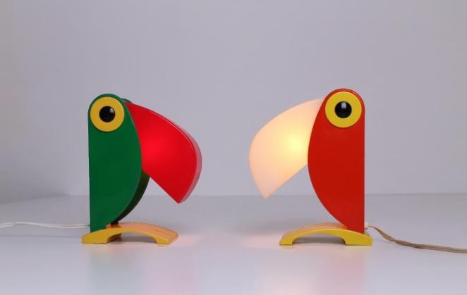 toucan-tucan-parrot-ferrari-oldtimer-sixties-memphis-vintage-design-italy-italian-3
