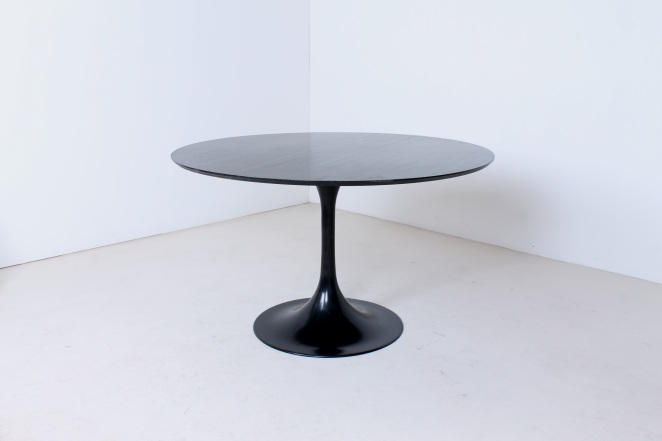 tulip-black-dining-table-knoll-attributed-organic-midcentury-design-fifties-round-metal-wood-top-vintage-2