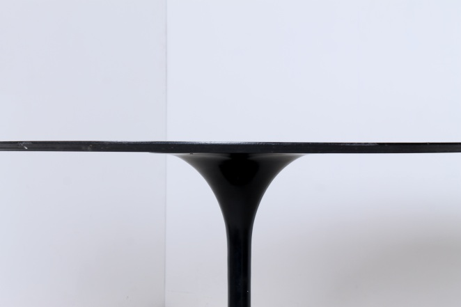 tulip-black-dining-table-knoll-attributed-organic-midcentury-design-fifties-round-metal-wood-top-vintage-4