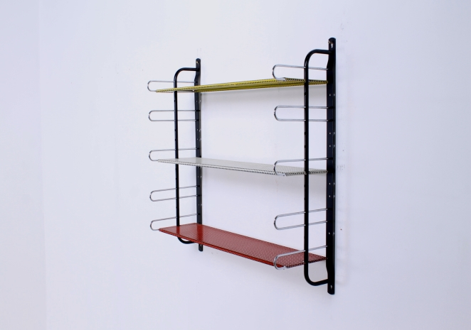 wall-console-perforated-shelving-unite-metal-pilastro-tomado-brabantia-midcentury-design-1
