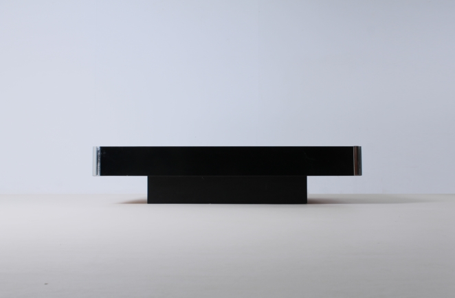 willy-rizzo-black-rectangular-coffee-table-chrome-sabot-italian-glamour-style-seventies-plastic-1