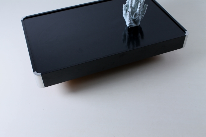 willy-rizzo-black-rectangular-coffee-table-chrome-sabot-italian-glamour-style-seventies-plastic-5