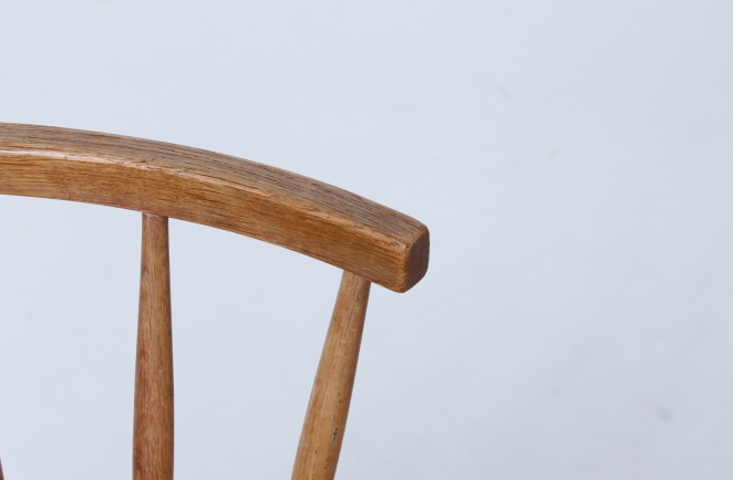 yngve ekstrom arka chair swedese oak natural wood scandinavian design Cencity nl