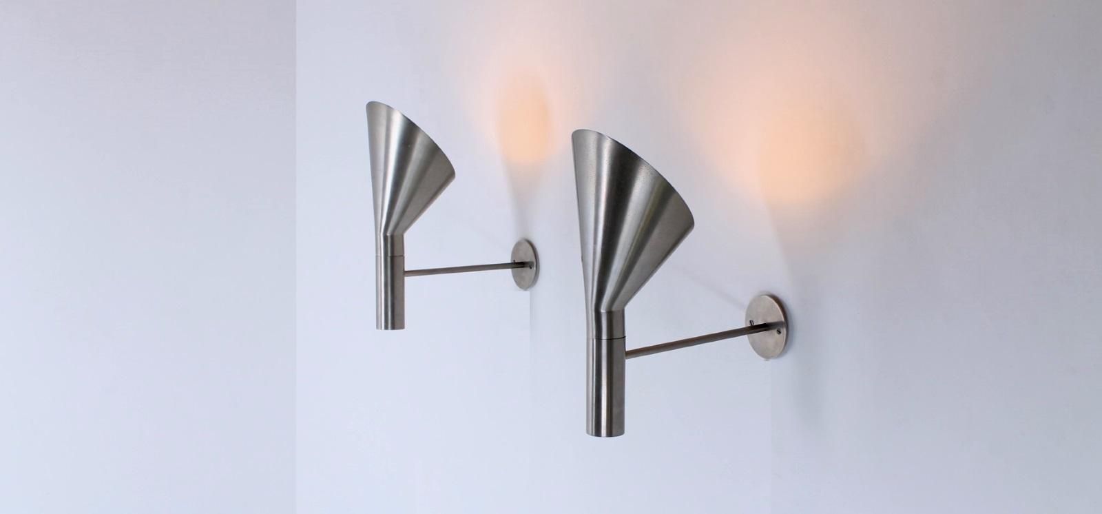 arne jacobsen visor wall lights 1957 cencity