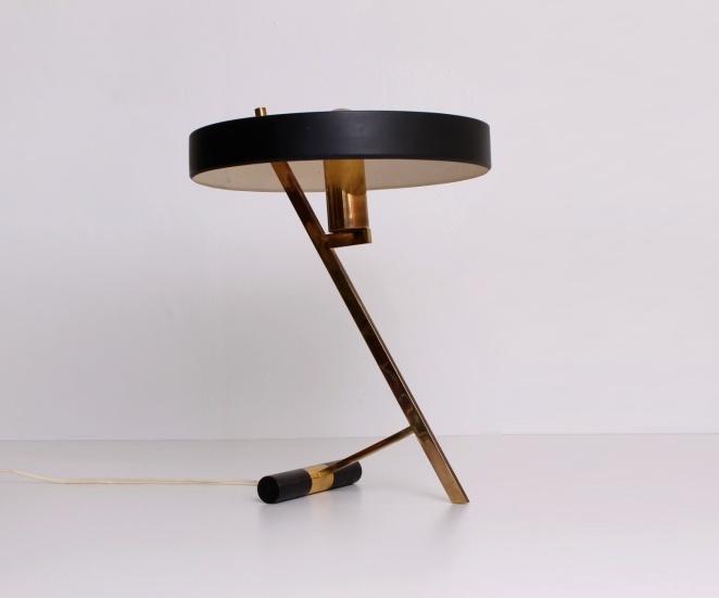 """Wonderlijk Louis Kalff desk lamp model """"Z"""" for Philips, 1950ies   Cencity.nl KG-41"""